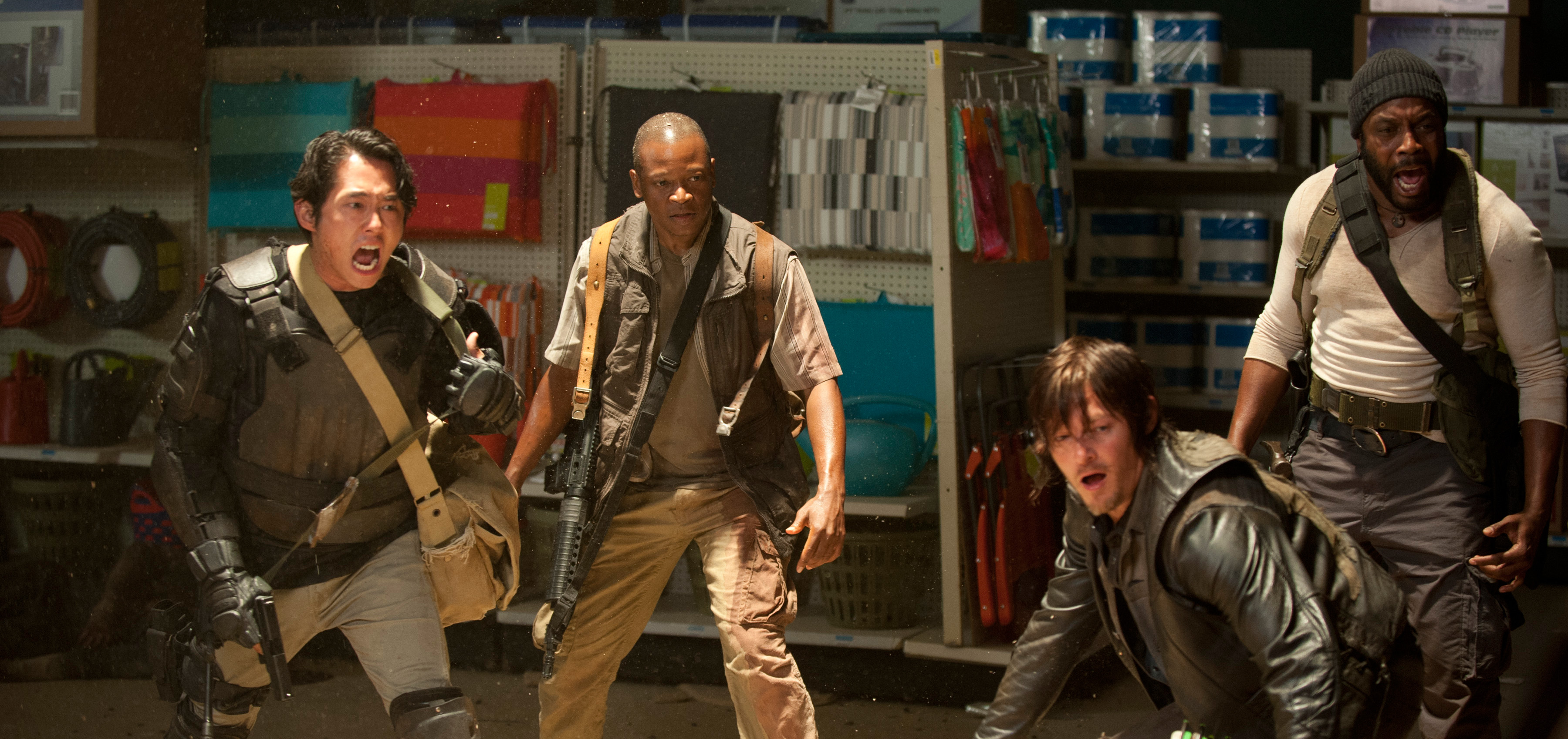 The Walking Dead 4ª Temporada: O grupo deveria acreditar em Bob ...