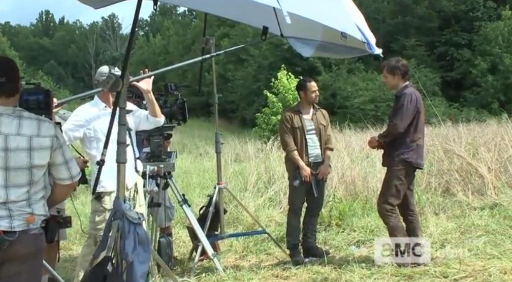 Bastidores da 4ª temporada de The Walking Dead: Episódio S04E07 -