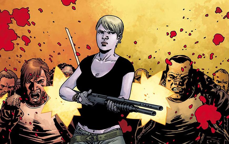 Prévia de 06 páginas da edição 116 da HQ de The Walking Dead