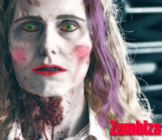 Zumbiza (Com maquiagem)
