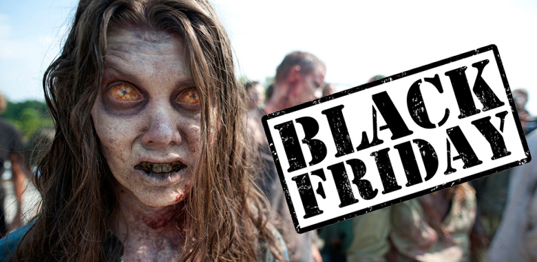 Produtos de The Walking Dead com super descontos na Black Friday