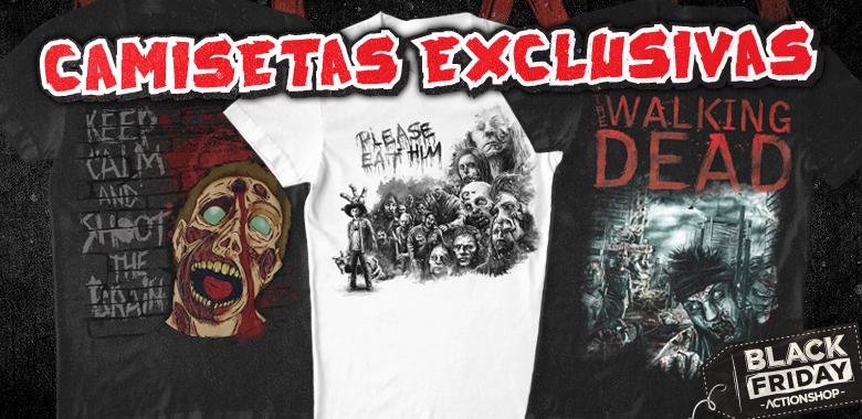 Camisetas do The Walking Dead em promoção!