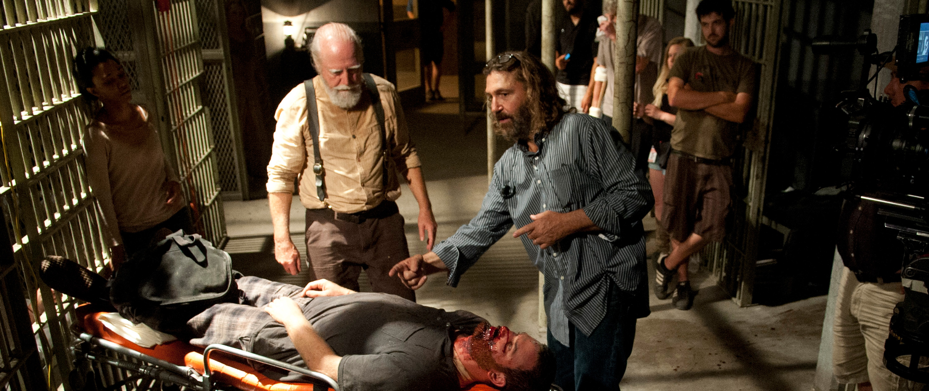Bastidores da 4ª temporada de The Walking Dead: Episódio S04E05 -