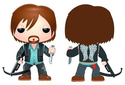 Exclusive-Funko-Walking-Dead-Biker-Daryl-Dixon-POP-Vinyls-Figure