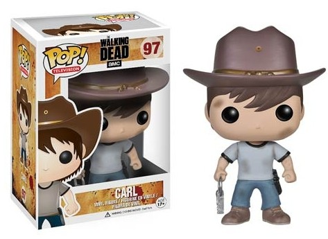 Funko-POP-Vinyls-Walking-Dead-Carl-Series-4-Figure