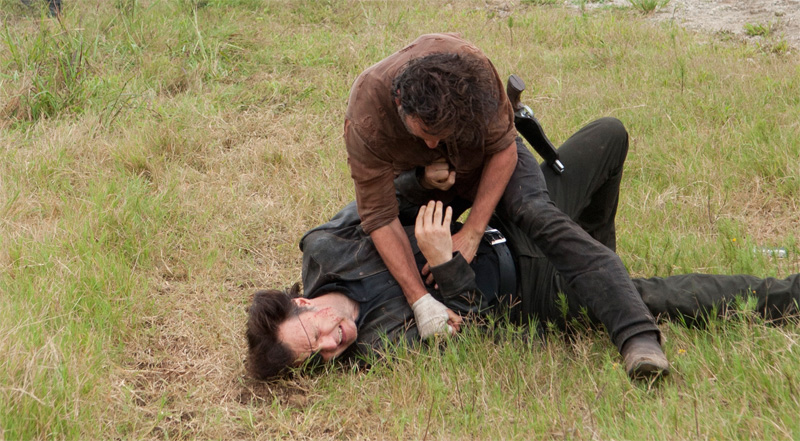 Rick-Governador-The-Walking-Dead-4-Temporada-S04E08-Too-Far-Gone