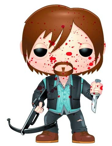 The-Walking-Dead-Biker-Daryl-Dixon-Funko-POP-Vinyls-Series-4-Bloody-Variant