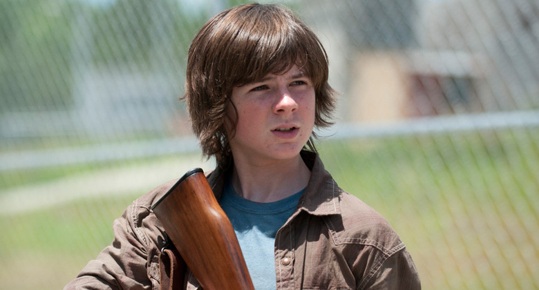 The Walking Dead 4ª Temporada: O que virá em seguida para Carl Grimes?