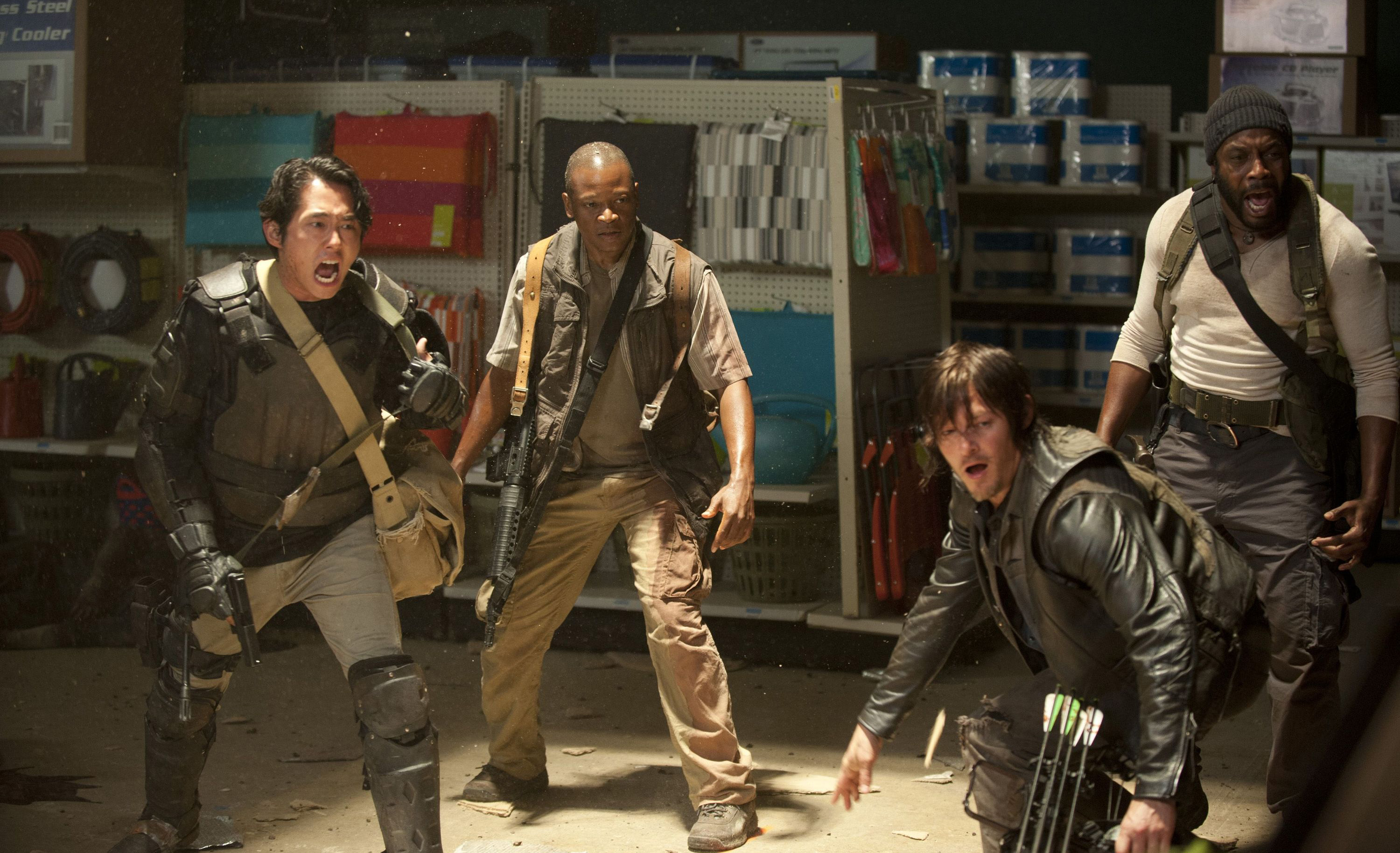 The Walking Dead 4ª Temporada - Episódio 1 (S04E01): 30 Days Without ...