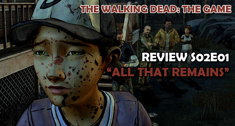 The Walking Dead: The Game - REVIEW S02E01: