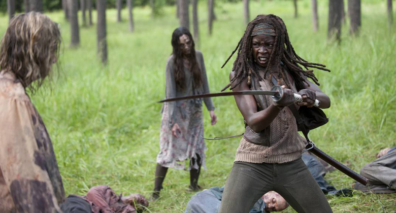 Bastidores da 4ª temporada de The Walking Dead: Episódio S04E09 -