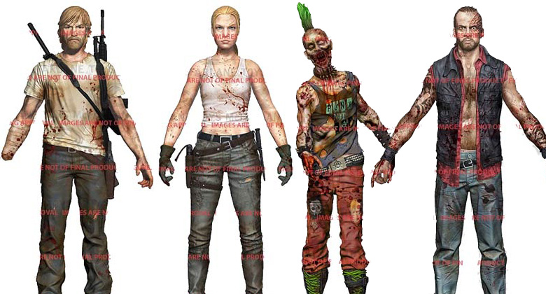 Primeiras imagens da terceira coleção de bonecos oficiais de The Walking Dead inspirados nos Quadrinhos