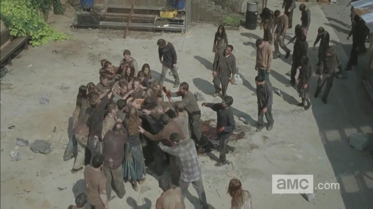 [HD] The Walking Dead- Season 4 Returns 602