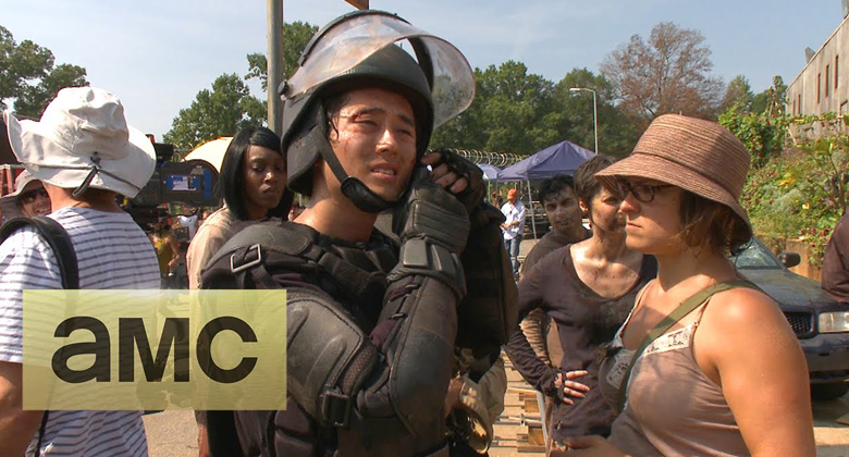 Bastidores da 4ª temporada de The Walking Dead: Episódio S04E10 -