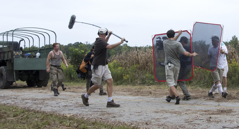 Bastidores da 4ª temporada de The Walking Dead: Episódio S04E11 -