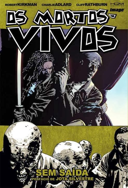 Os-Mortos-Vivos-Volume-14-Sem-Saida-Capa