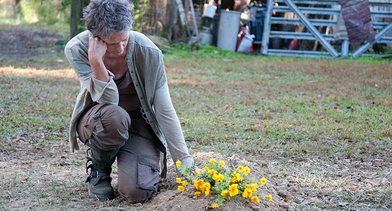 Dissecando o episódio S04E14 – The Grove: Melissa McBride fala sobre a decisão devastadora de Carol