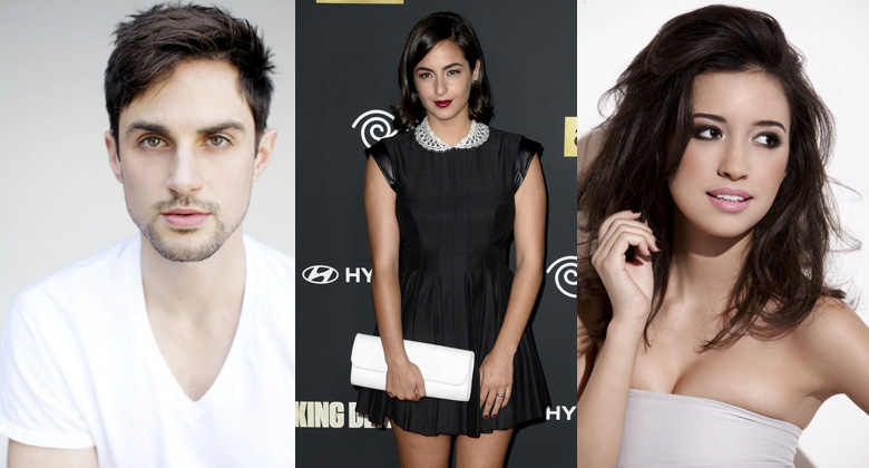 The Walking Dead 5ª Temporada: Andrew J. West, Alanna Masterson e Christian Serratos entram para o elenco regular