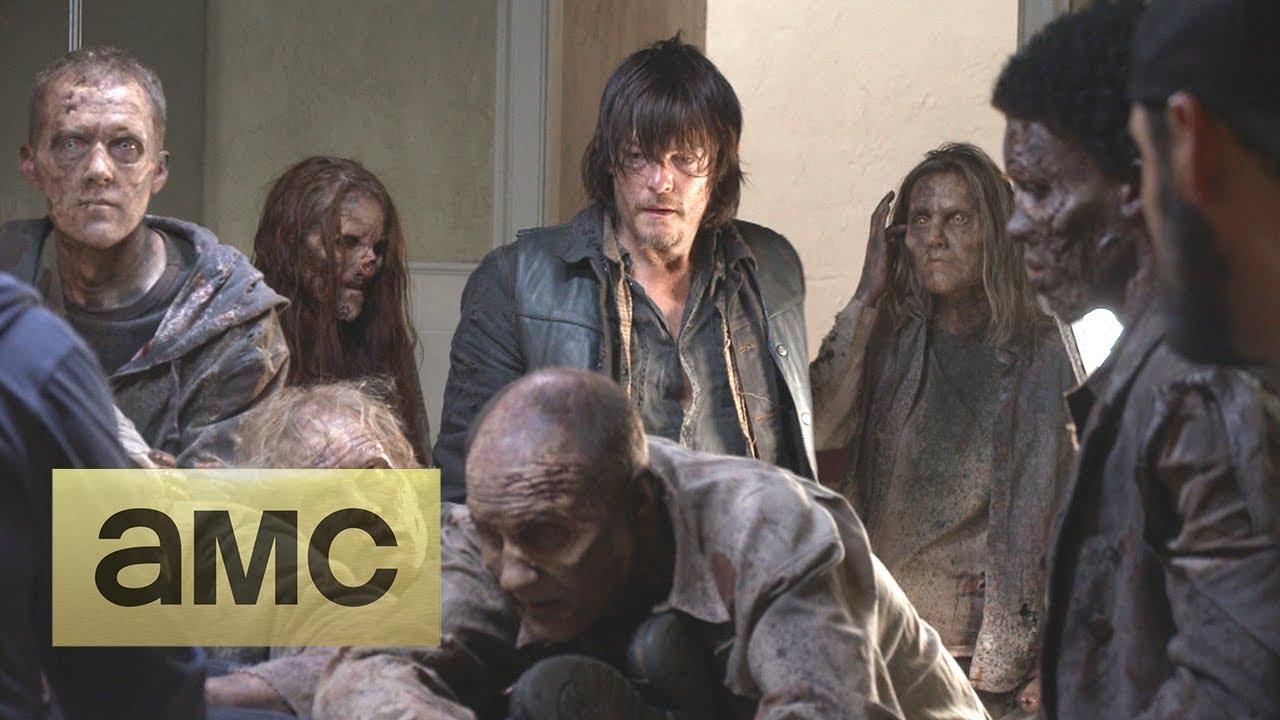 Bastidores da 4ª temporada de The Walking Dead: Episódio S04E13 -