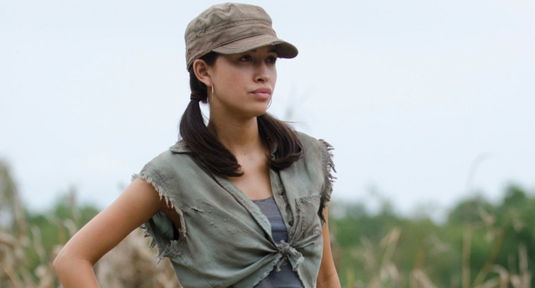 The Walking Dead 4ª Temporada: Perguntas e Respostas com Christian Serratos (Rosita Espinosa)