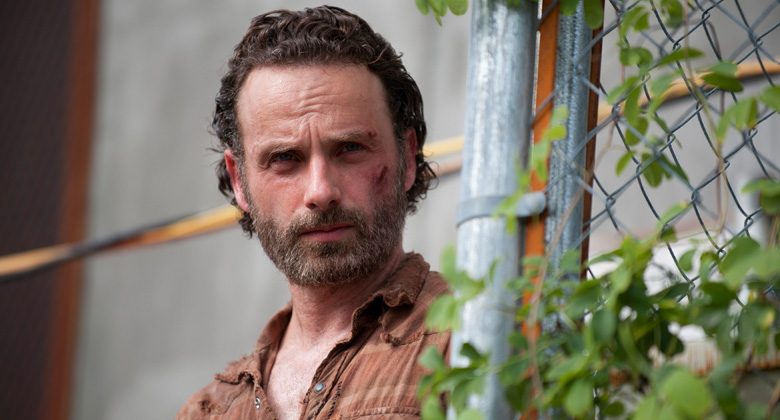 Andrew Lincoln fala sobre o Terminal, a teoria dos Canibais e a season finale da 4ª temporada