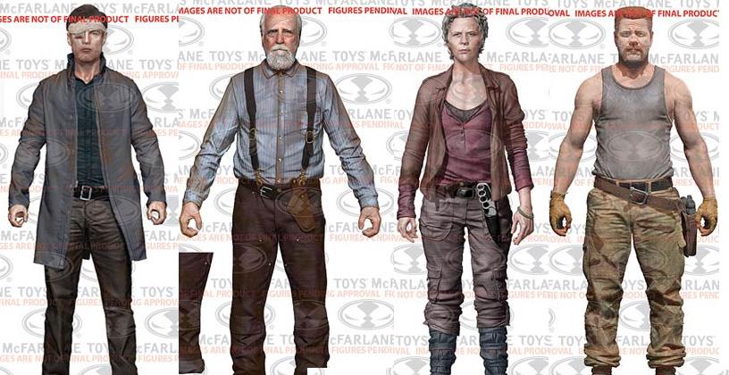 The Walking Dead Action Figures Série 6 (TV): Fotos e informações
