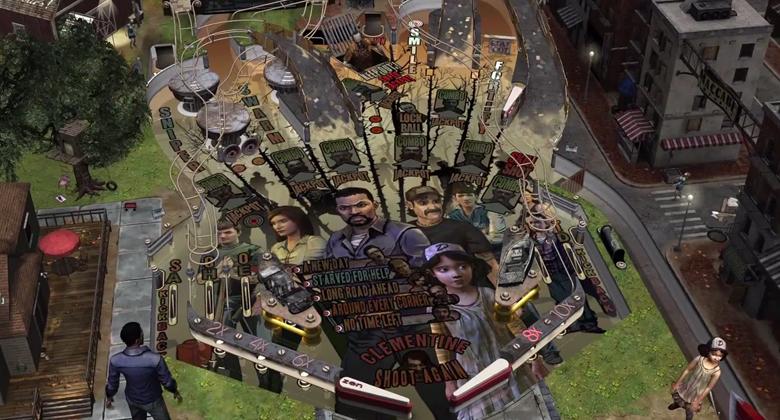 The Walking Dead vai ganhar uma mesa de pinball da Zen Studios