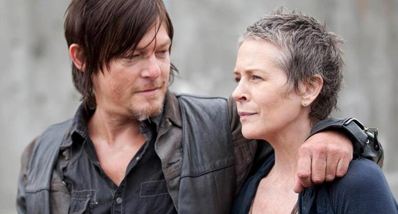 Um possível conflito envolvendo os personagens Daryl e Carol na quinta temporada