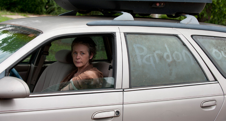 The Walking Dead 5ª Temporada - Spoilers das filmagens: Flashback do banimento de Carol?