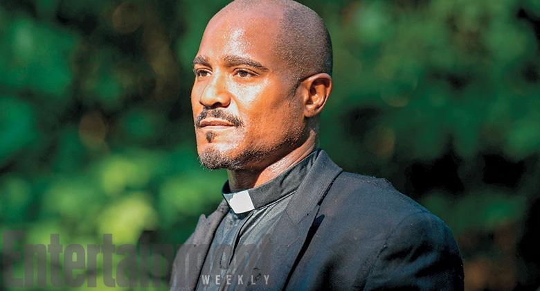 Primeira imagem oficial de Seth Gilliam como Padre Gabriel Stokes na 5ª Temporada de The Walking Dead