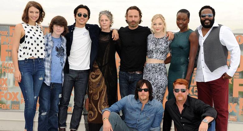 O elenco e a equipe de The Walking Dead falam sobre a quinta temporada
