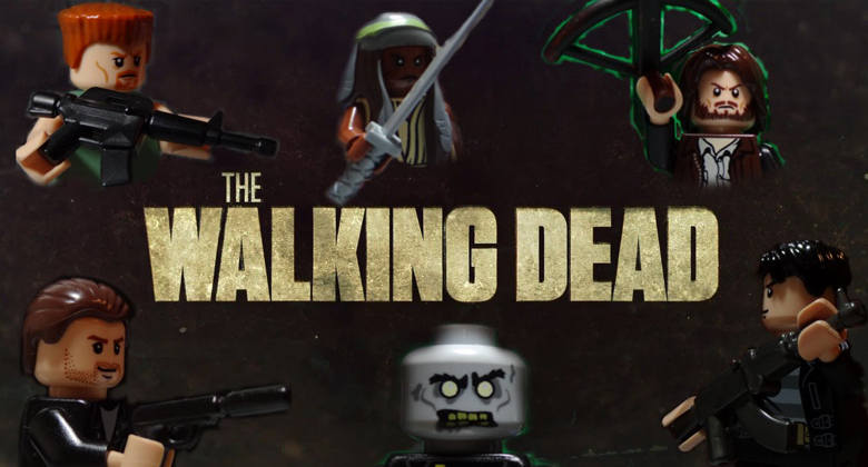 Trailer da 5ª temporada de The Walking Dead - VERSÃO LEGO