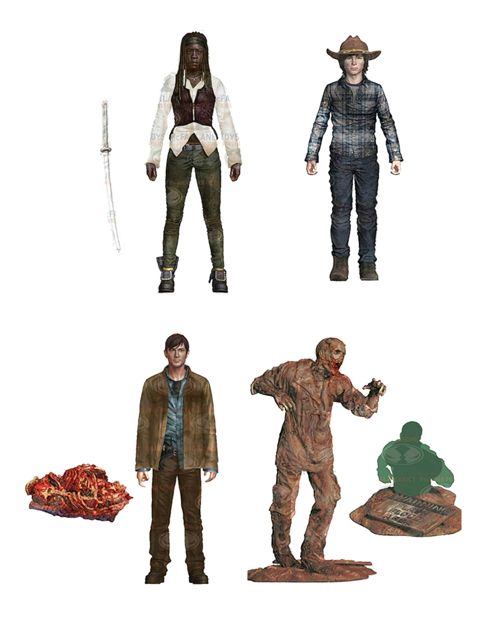 The-Walking-Dead-TV-Series-7-Set