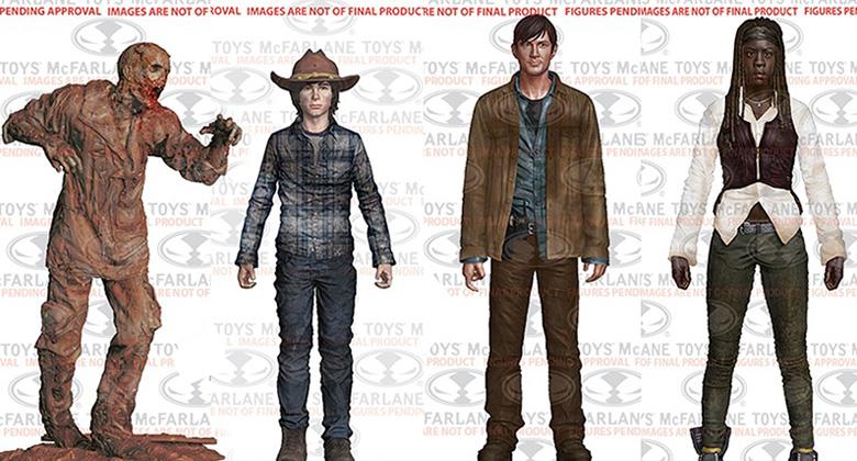 The Walking Dead Action Figures Série 7 (TV): Fotos e informações