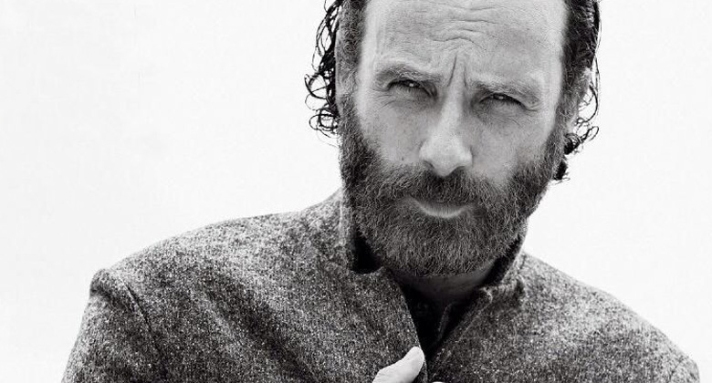 Photoshoot e scans da Men's Fitness com Andrew Lincoln