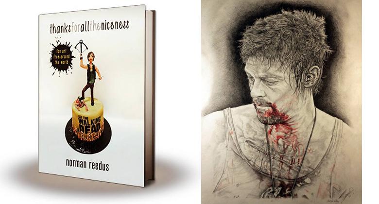 Norman Reedus apresenta o seu livro com FanArts -