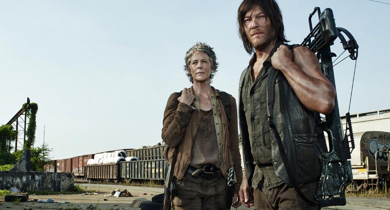 Daryl e Carol juntos em novo teaser da 5ª temporada de The Walking Dead