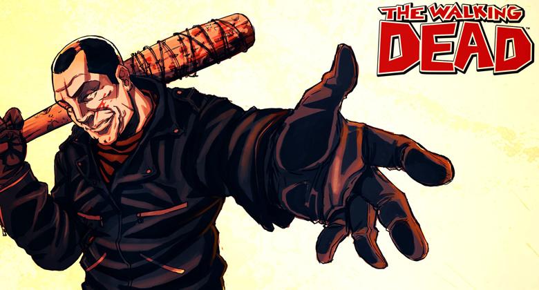 Especulando sobre The Walking Dead: Já estaria o vilão Negan sendo introduzido na série?
