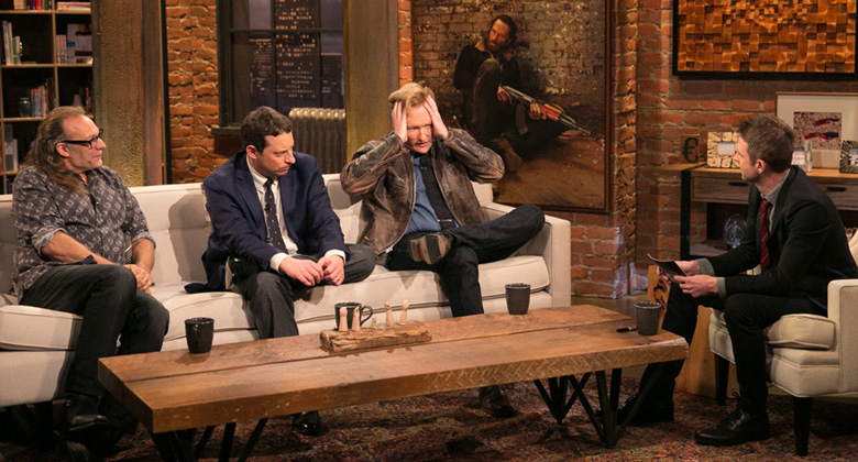 Talking Dead Brasil #24 – Scott M. Gimple, Greg Nicotero e Conan O'Brien