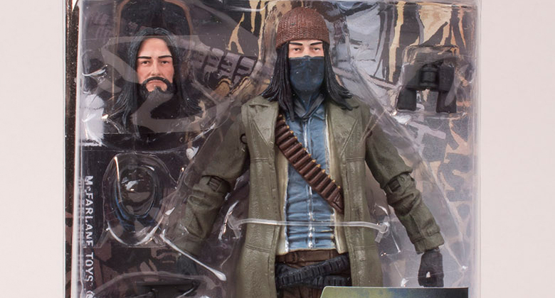 The Walking Dead Action Figure (HQ): Revelado o boneco oficial de Jesus