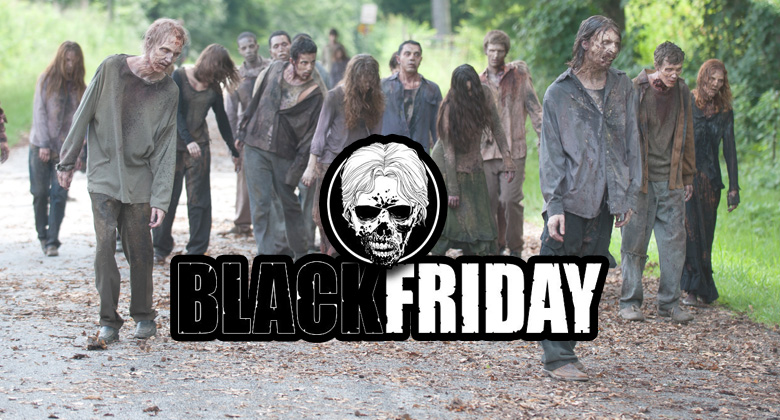 WALKER FRIDAY - A Black Friday para os fãs de The Walking Dead