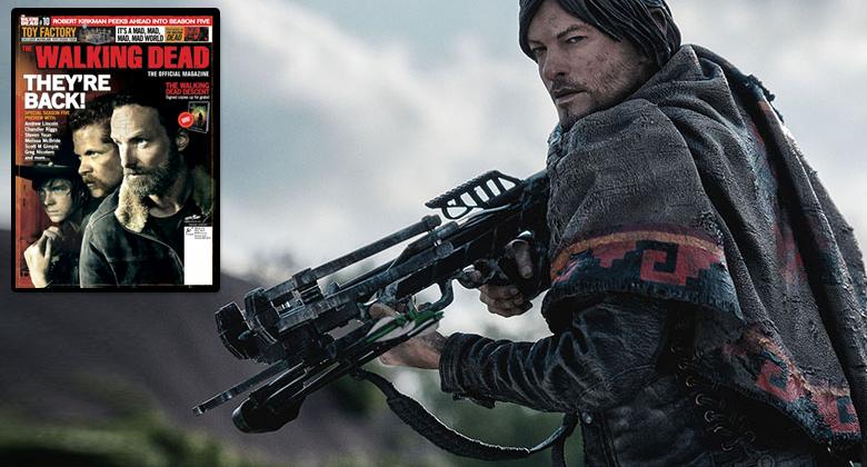 [PROMOÇÃO] Kit de The Walking Dead - Boneco Daryl Dixon e Revista Oficial