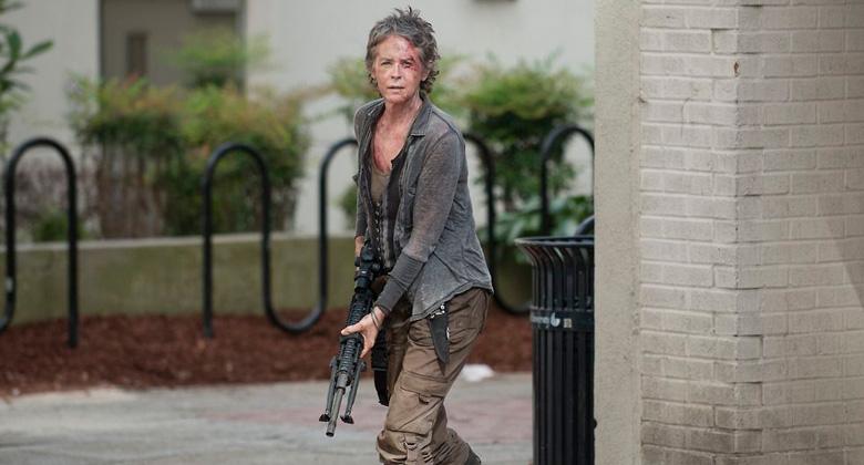 Melissa McBride fala sobre a evolução de Carol em