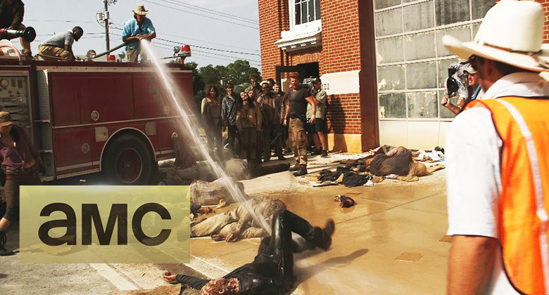 Bastidores da 5ª temporada de The Walking Dead: S05E05 -