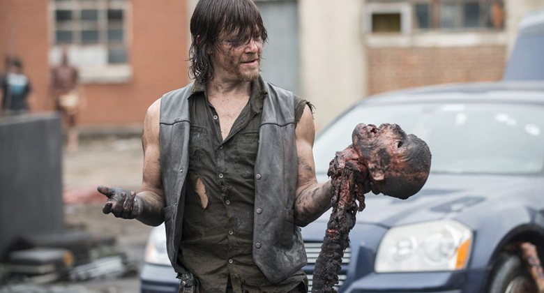 Bastidores da 5ª temporada de The Walking Dead: S05E07 -