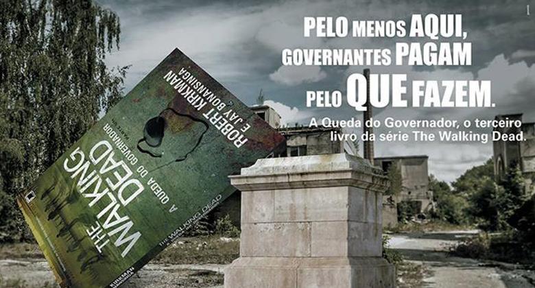Propaganda do livro