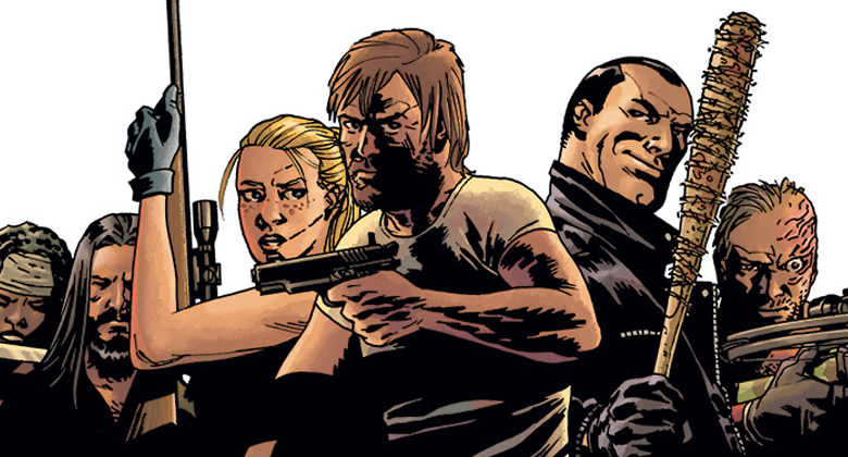 Voc 234 est 225 em in 237 cio hq the walking dead compendium 3 arte da capa