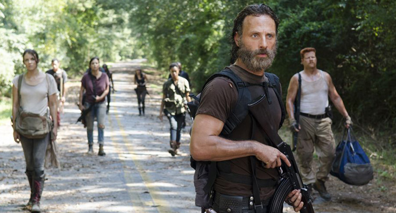The Walking Dead S05E10 - Them: Quem é o novo cara misterioso?