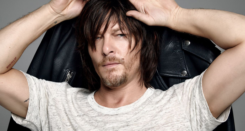 Norman Reedus em photoshoot para o site The Imagista