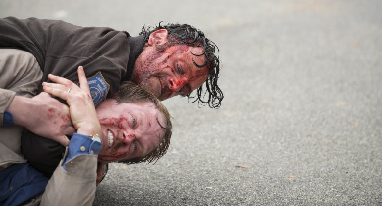 The Walking Dead 5ª Temporada: Andrew Lincoln fala sobre a cena épica de briga
